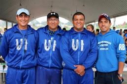 Los Coach´s Miguel Tinajero, Jorge Merino, Fernando Franco y Luis Flores