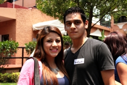 Nathaly y Diego