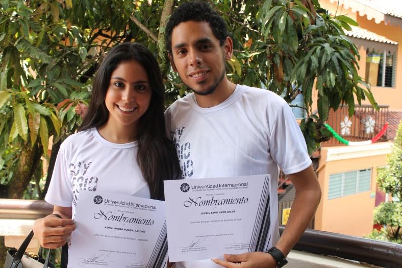 Ximena Fajardo y Alexis Meza